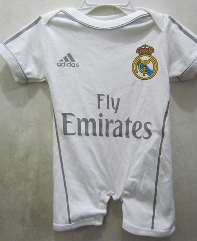 Jersey Bayi Cowok Real Madrid Home 2015-2016