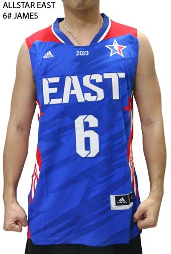 Jersey Basket NBA Allstar East #JAMES 6