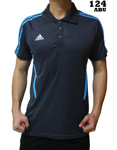 Polo Shirt Adidas 124 Grey
