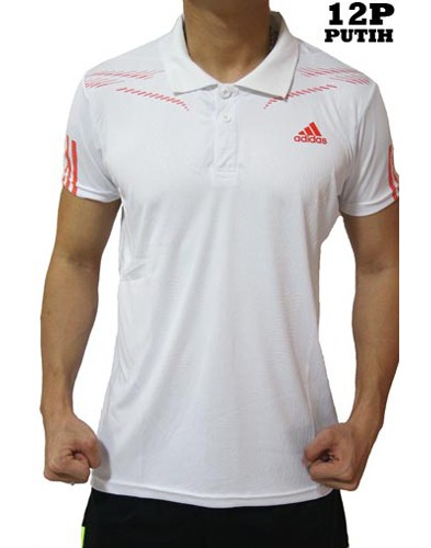 Polo Shirt Adidas 12P White