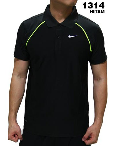 Polo Shirt Nike 1314 Black