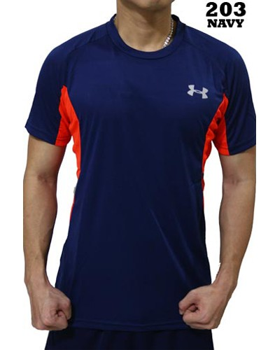 Kaos Olahraga Under Armour 203 Navy