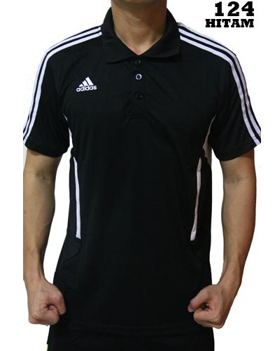 Polo Shirt Adidas 124 Black