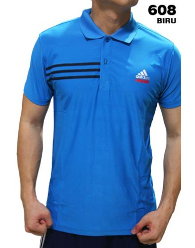 Polo Shirt Adidas 608 Blue