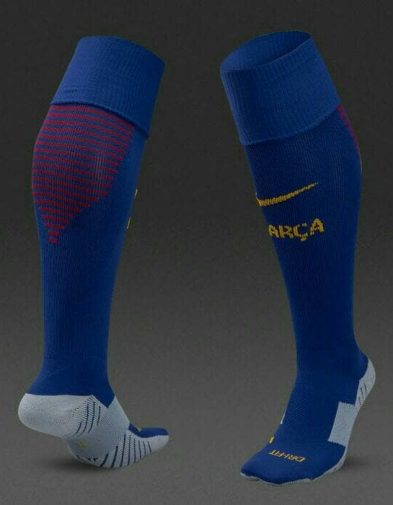 Kaos Kaki Barcelona Home 2017-2018 Terbaru | Replika Top Quality