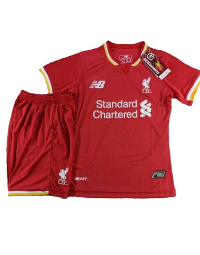 Jersey Kids Liverpool Home 2015-2016