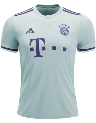 Jersey Bayern Munchen Away 2018-2019 Terbaru | Replika Top Quality