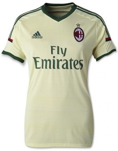 Jersey Ladies AC Milan 3RD 2014-2015