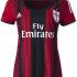 Jersey Ladies AC Milan home 2014-2015