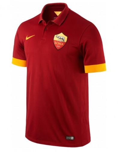Jersey AS Roma Home 2014-2015 Official