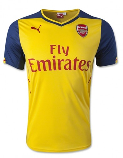 Jersey Arsenal Away 2014-2015