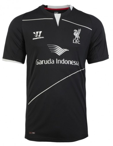 Jersey Liverpool Training Black 2014-2015