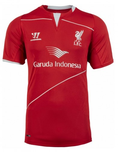 Jersey Training Liverpool Red 2014-2015