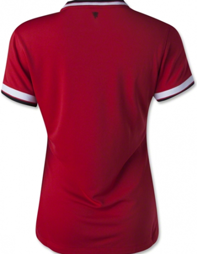 Jersey Manchaster United home Ladies back 2014-2015