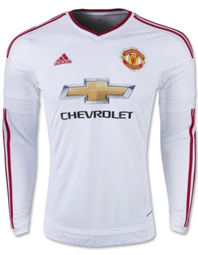 Jersey Manchester United Away 2014-2015 Longsleeve