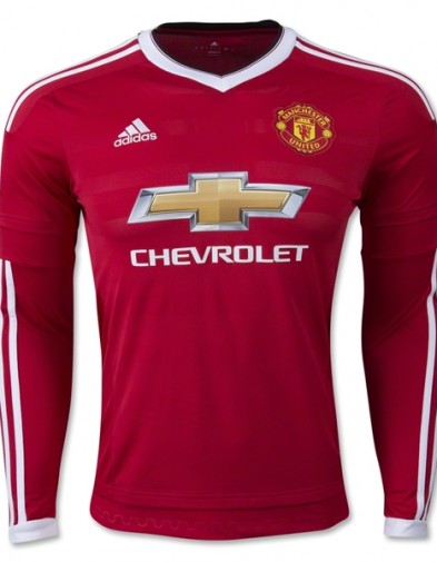 Jersey Manchester United Home Longsleeve