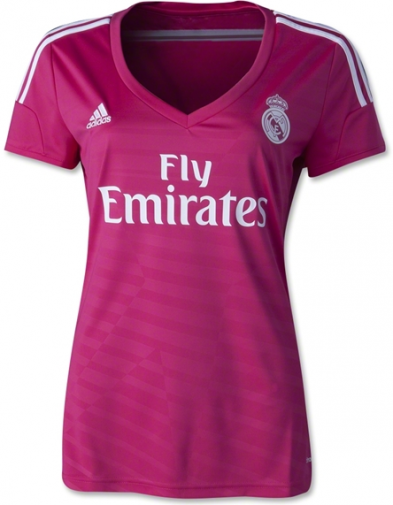 Jersey Real Madrid Away ladies 2014-2015