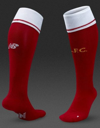 Kaos Kaki Liverpool Home 2017-2018 Terbaru | Top Quality Replika