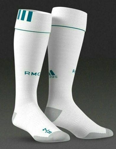 Kaos Kaki Real Madrid Home 2017-2018 Terbaru | Replika Top Quality