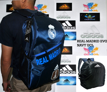 TAS RANSEL BOLA REAL MADRID UCL EVO + RAINCOVER
