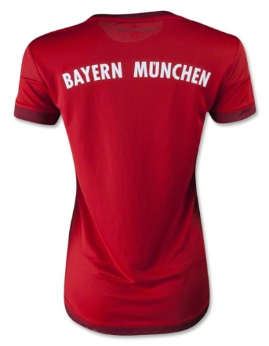Jersey Bayern Munchen Home ladies back 2015-2016