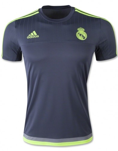 Jersey Training Real Madrid Grey 2015-2016 Terbaru