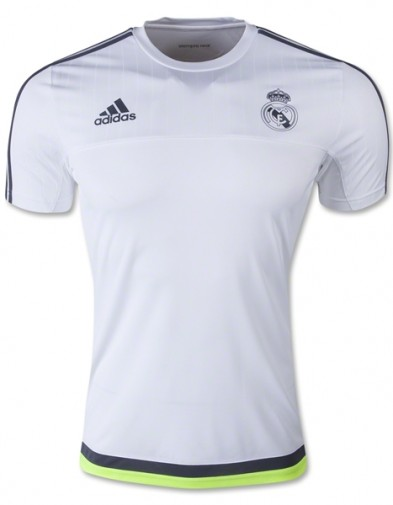 Jersey Real madrid Training white 2015-2016