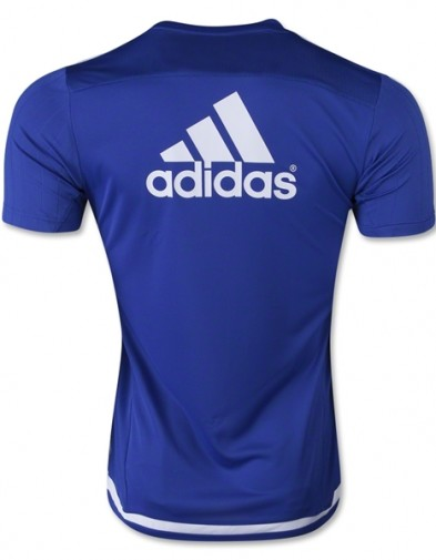 Jersey Chelsea Train Blue back 2015-2016