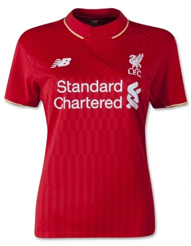 Jersey Ladies Liverpool Home 2015-2016 Terbaru