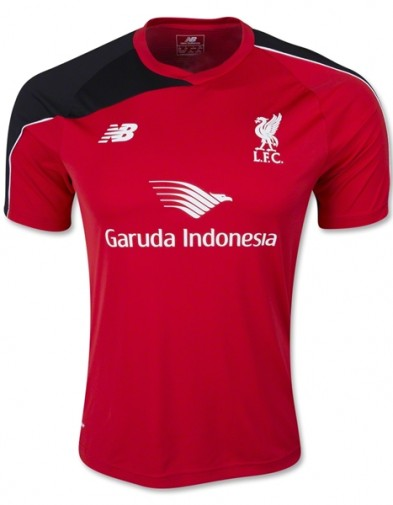 Jersey Liverpool Training Red 2015-2016