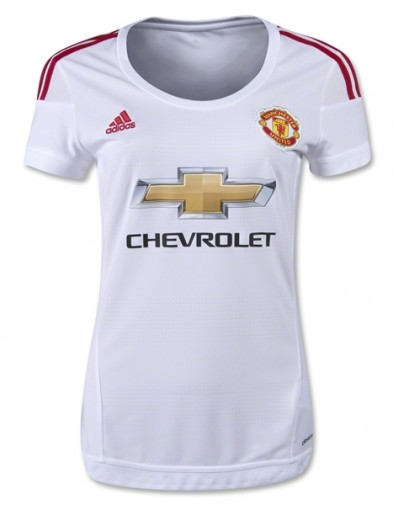 Jersey Manchester United  Away ladies 2015-2016