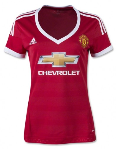 Jersey Manchester United  Home ladies 2015-2016