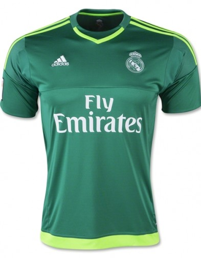Jersey Real Madrid GK Away 2015-2016 Terbaru