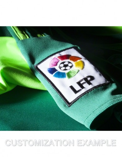 Logo LFPReal Madrid GK green