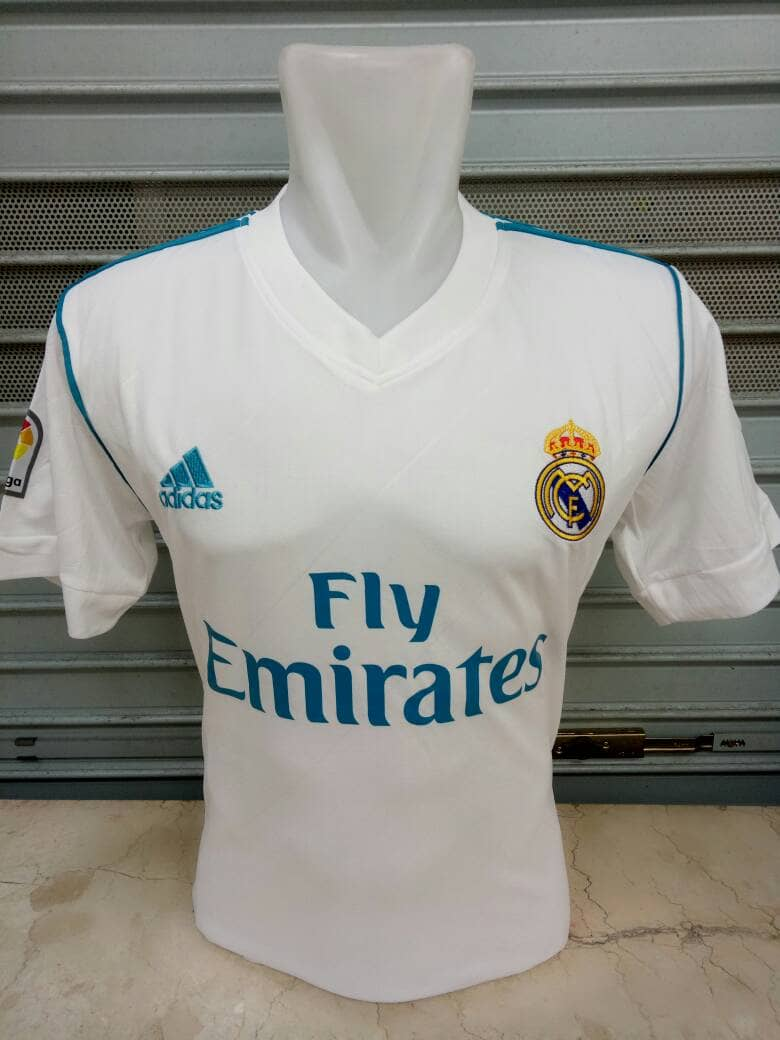 Madrid-Home Jersey Real Madrid 2017/2018 Home Adidas