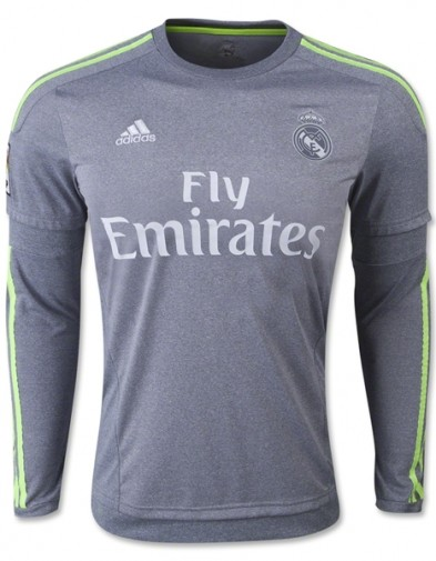 Jersey Real Madrid Away Lengan Panjang 2015-2016 Terbaru