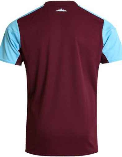 Umbro West Ham 1718 Home SS Shirt – Claret Blue