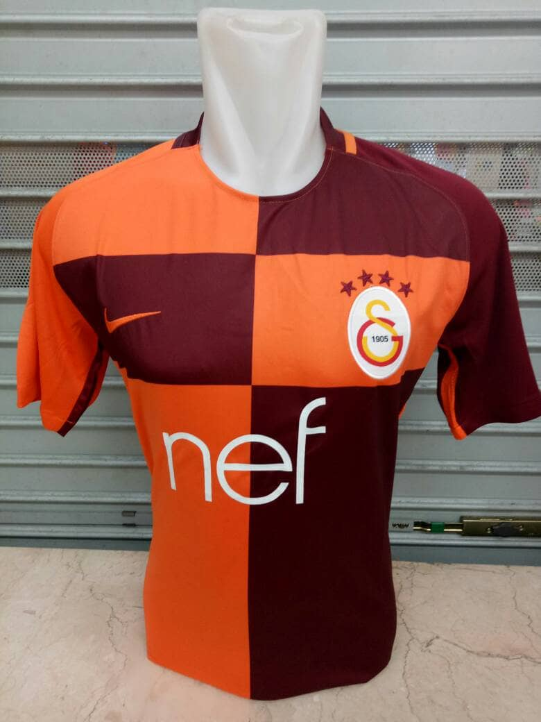 gambar jersey galatasaray home 2017-2018