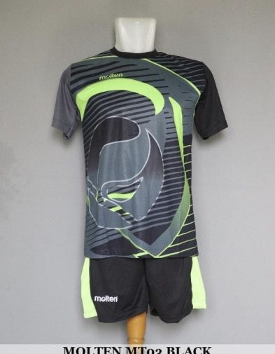 Setelan Volley Molten MT03 Black