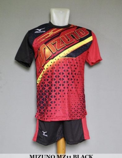 Setelan Volley Mizuno MZ11 Black