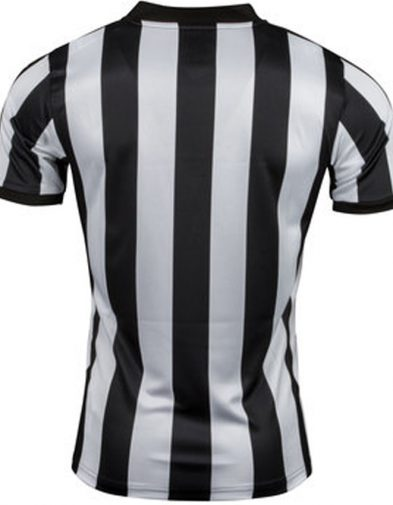 Newcastle United 2017 2018 125th Anniversary PUMA Home Football Kit, Soccer Jersey, Shirt