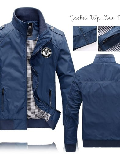 JAKET MU WATERPROOF BLUE