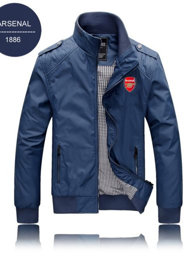 JAKET WATERPROOF ARSENAL BLUE