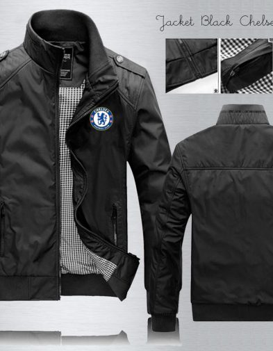 JAKET WATERPROOF CHELSEA BLACK