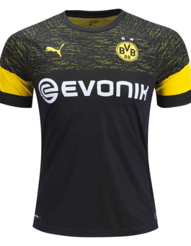 Jersey Borussia Dortmund Away 2018-2019 Terbaru | Replika Top Quality
