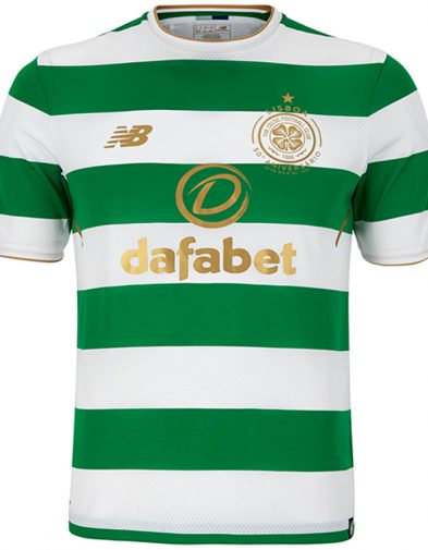 New Balance Celtic Home Jersey 17-18