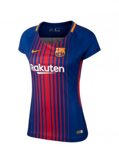 Jersey Wanita Barcelona Home 2017-2018 Terbaru | Replika Top Quality