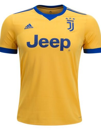 Jersey Juventus Away Biru 2017-2018 Terbaru | Top Quality Replika