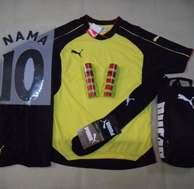 Setelan Kaos Futsal / Bola Puma Arsenal Yellow Black