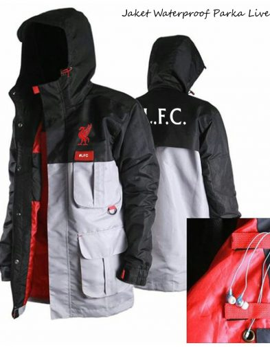 Jaket Waterproof Parka Liverpool 2016-2017